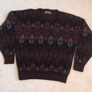 Men's pullover, crew neck sweater